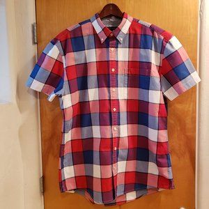 Tommy Hilfiger Whalen Plaid Short Sleeve Shirt
